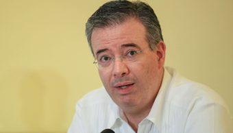 FOTO Alejandro Díaz de León, gobernador de Banxico, urge al Gobierno AMLO resolver los problemas de Pemex (EFE 22 marzo 2019 acapulco)