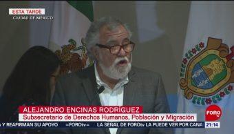 Foto: Gobierno Disculpa Caso Tierra Blanca 4 de Marzo 2019