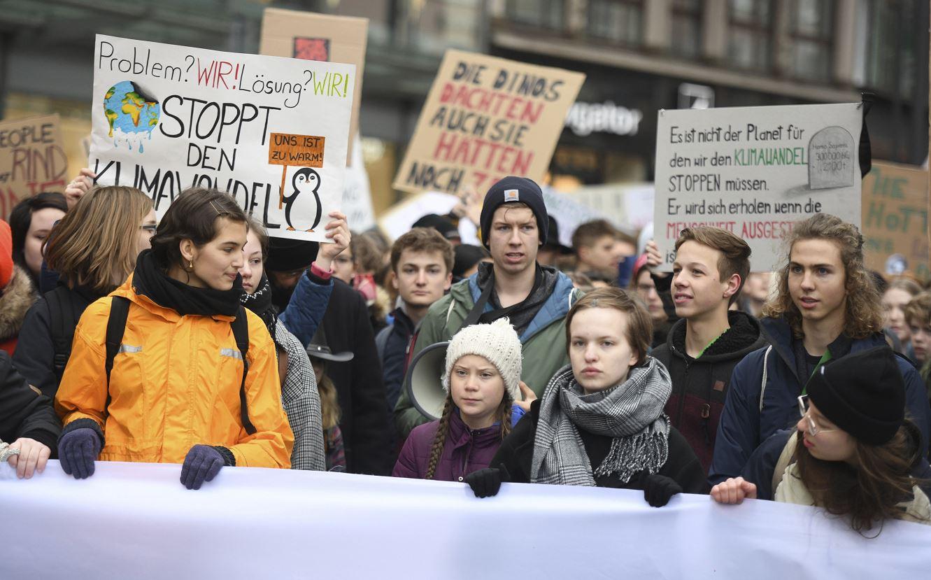 foto Nominan al Nobel de la Paz a Greta Thunberg 3 enero 2019