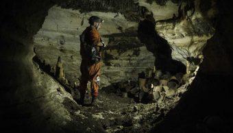 Foto: Hallan tesoro maya en cueva Balakmul , 4 de marzo 2019. Cuartoscuro