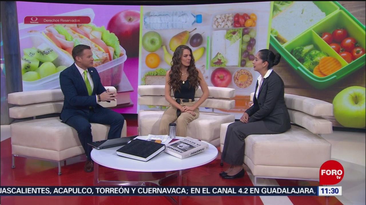 IMSS recomienda lunch saludable para evitar la obesidad infantil