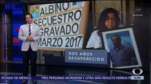 Inicia juicio por desaparición del profesor jubilado Albino Quiroz