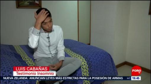 FOTO: Insomnio afecta a 40% de mexicanos, 16 marzo 2019