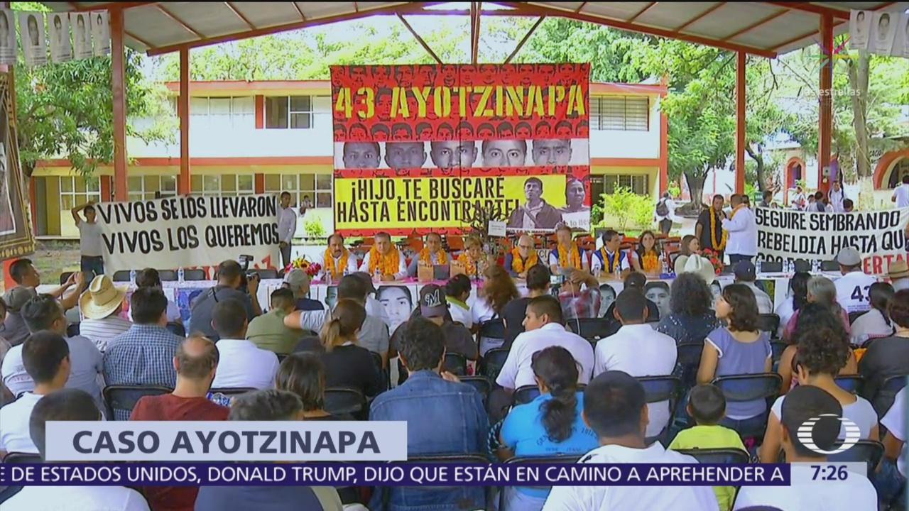 Foto: La SRE y la CIDH acuerdan mecanismo para el Caso Ayotzinapa