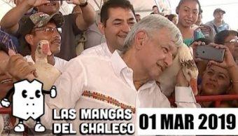 Foto: Las Mangas del Chaleco, AMLO y los gansos, Aprueban la Guardia Nacional, subasta de autos