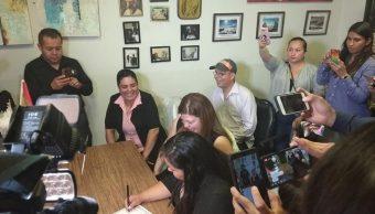 Se casan con todas las de la ley; así celebraron el primer matrimonio igualitario en Nuevo León