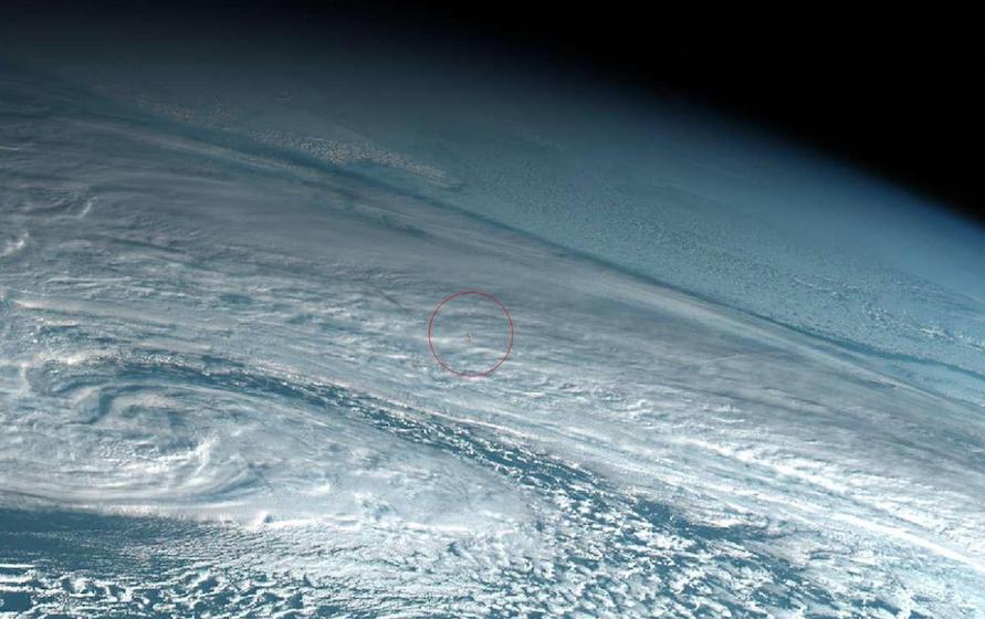 Foto meteoro produce potente explosión Pacífico, nadie se dio cuenta