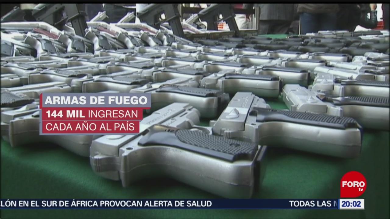 FOTO:Miles de armas llegan a CDMX para delinquir, 18 marzo 2019