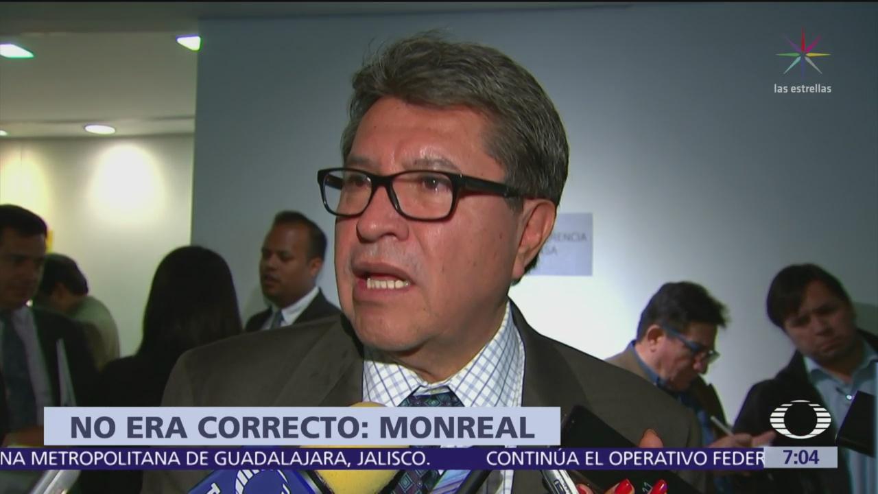 Foto: Morena retira iniciativa para regular actuación de calificadores