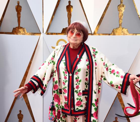 "FOTO Muere Agnes Varda, figura de la ""Nouvelle Vague"" del cine francés (AP 4 marzo 2018 los angeles)"