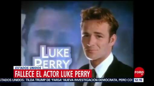 Muere el actor Luke Perry, estrella de Beverly Hills 90210