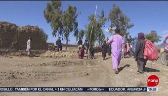 FOTO: Mueren 20 personas por inundaciones en Afganistán, 3 marzo 2019