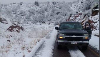 Foto: Nevada en Sonora, 23 de febrero 2019. Twitter @uepcsonora