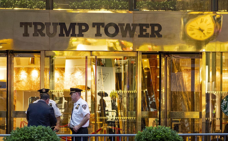 Foto: La Torre Trump en la Quinta Avenida, en Nueva York, 15 marzo 2019