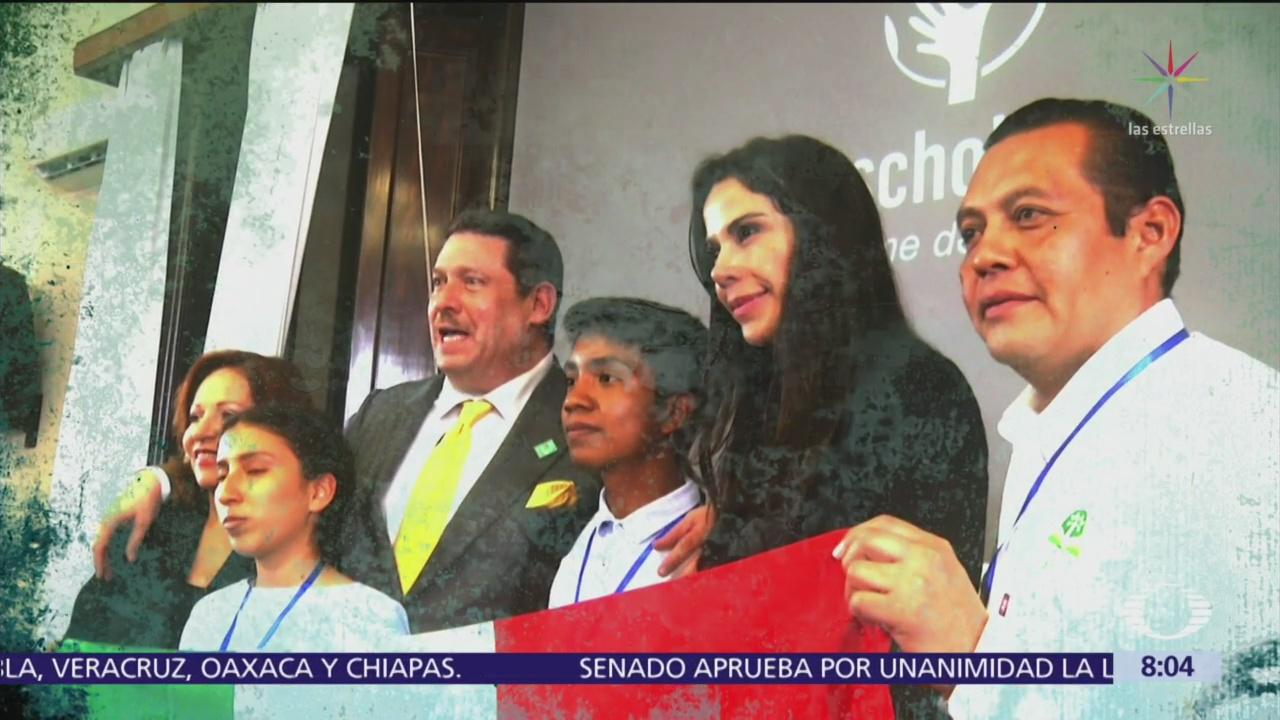 Paola Rojas sostiene encuentro con el papa Francisco en el Vaticano