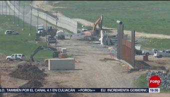 FOTO: Pentágono enlista posibles recortes a proyectos para financiar muro, 18 marzo 2019