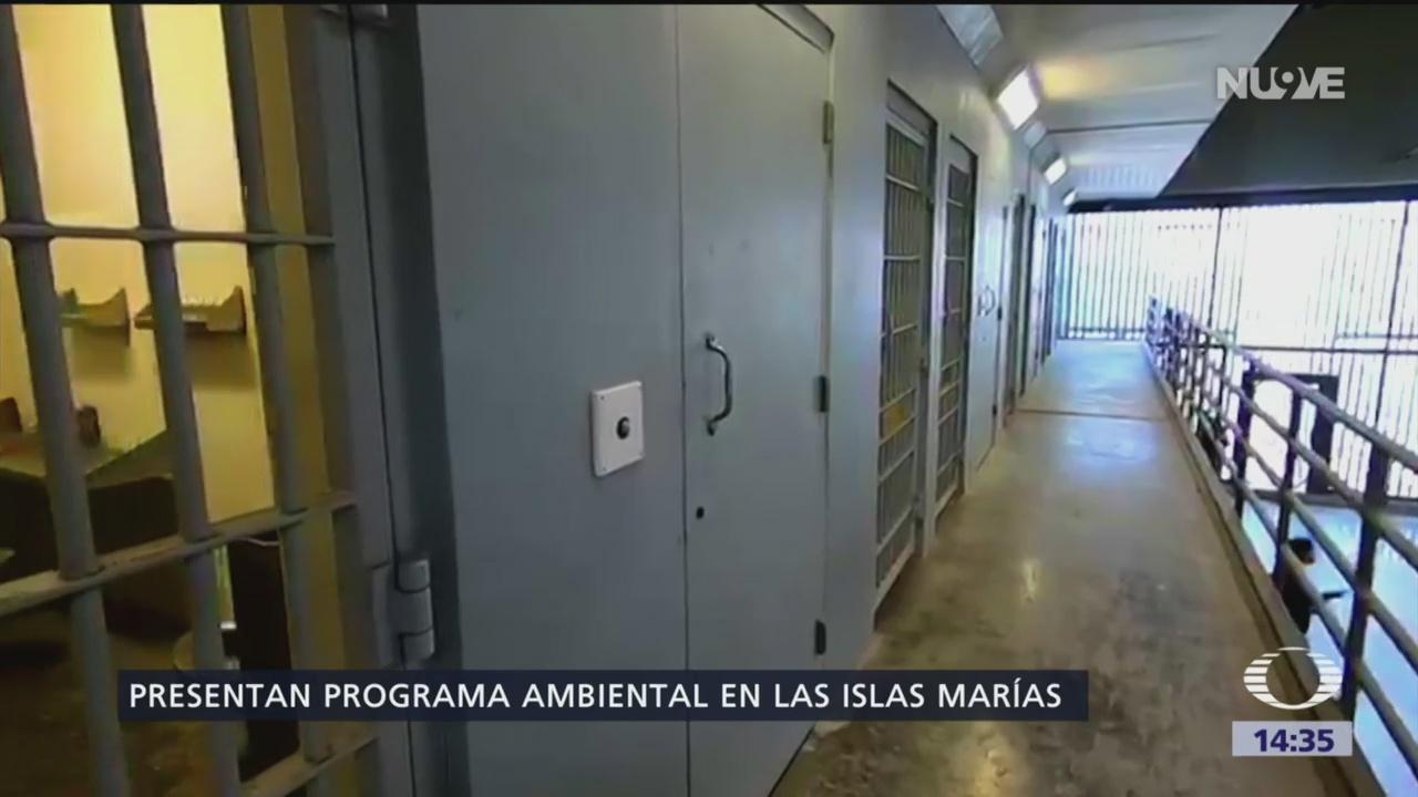 Foto: Presentan programa ambiental en las Islas Marías