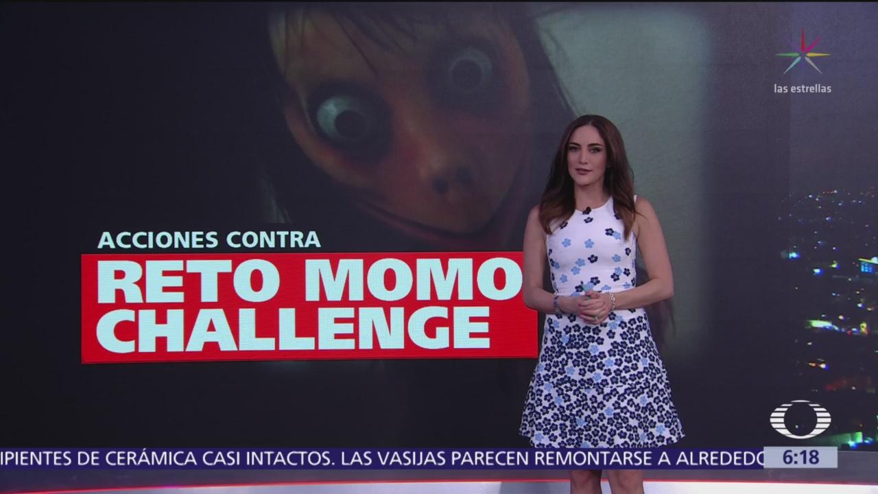 Recomendaciones contra el reto 'Momo Challenge'