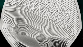 IMAGEN Reino Unido acuña moneda para conmemorar a Stephen Hawking The Royal Mint 13 marzo 2019 londres