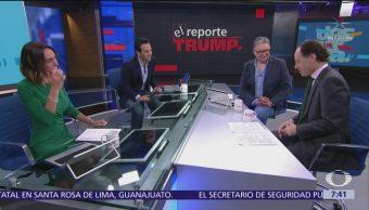 Foto: Reporte Trump Los precandidatos del Partido Demócrata a la Presidencia