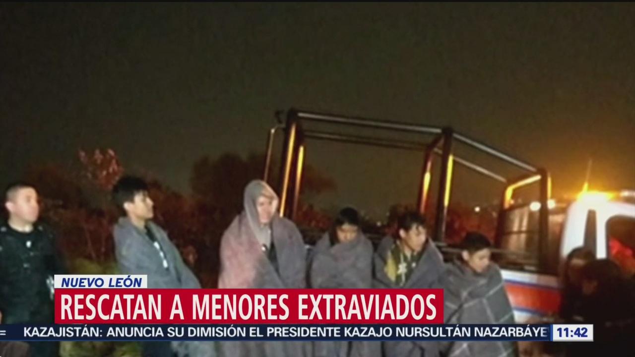 Rescatan a menores extraviados en cerro de Topo Chico, Nuevo León