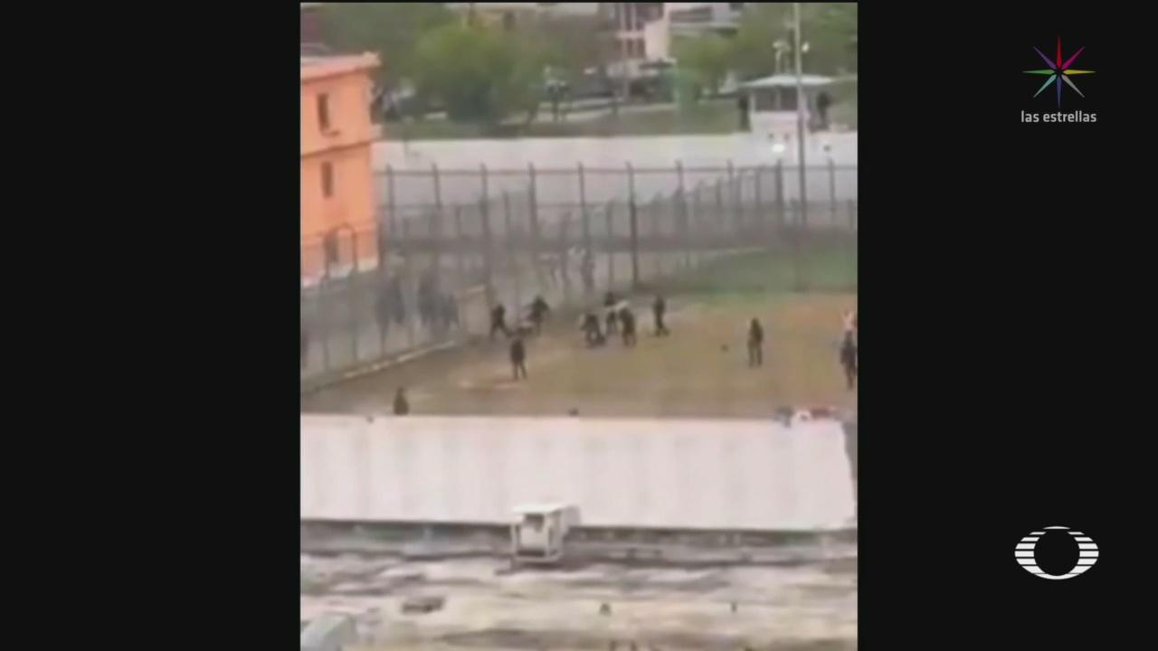 Foto: Riña Reos Penal Topo Chico 27 de Marzo 2019