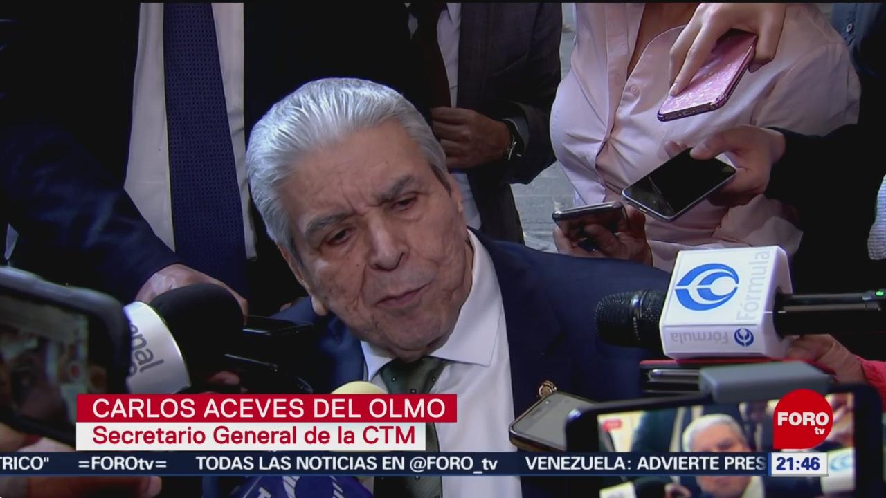 Foto: Secretario General CTM Expone Diferencias Reforma Laboral 12 de Marzo 2019