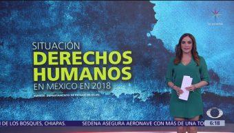 Situación de Derechos Humanos en México en 2018