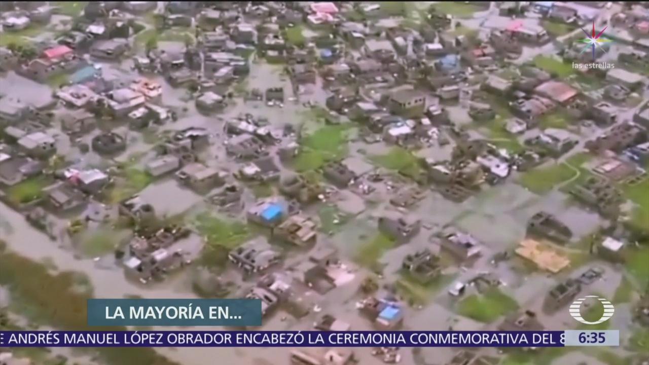 Suman 220 muertos por ciclón 'Idai' en África