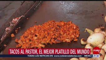 FOTO:Tacos al pastor: Mejor platillo típico del mundo, 9 marzo 2019