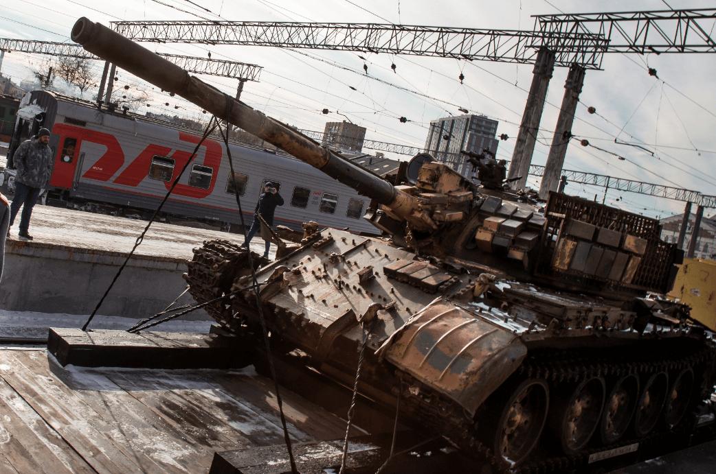 FOTO Rusia adquiere más de mil aeronaves y miles de tanques AP 23 febrero 2019 moscu