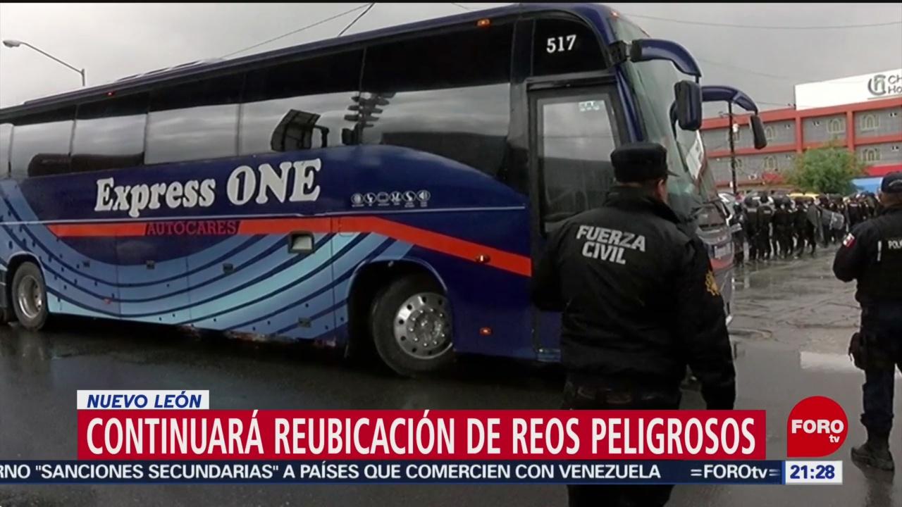 Foto: Trasladarán a reos de penales de Nuevo León