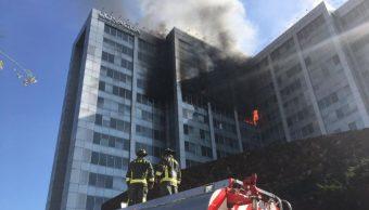 Videos del incendio de CONAGUA en la CDMX