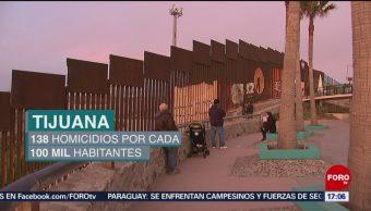 Foto: Violencia en Tijuana enciende alertas