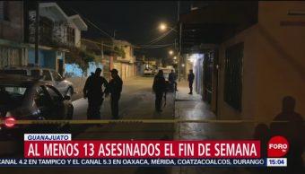 FOTO: Violento fin de semana en Guanajuato, 25 marzo 2019