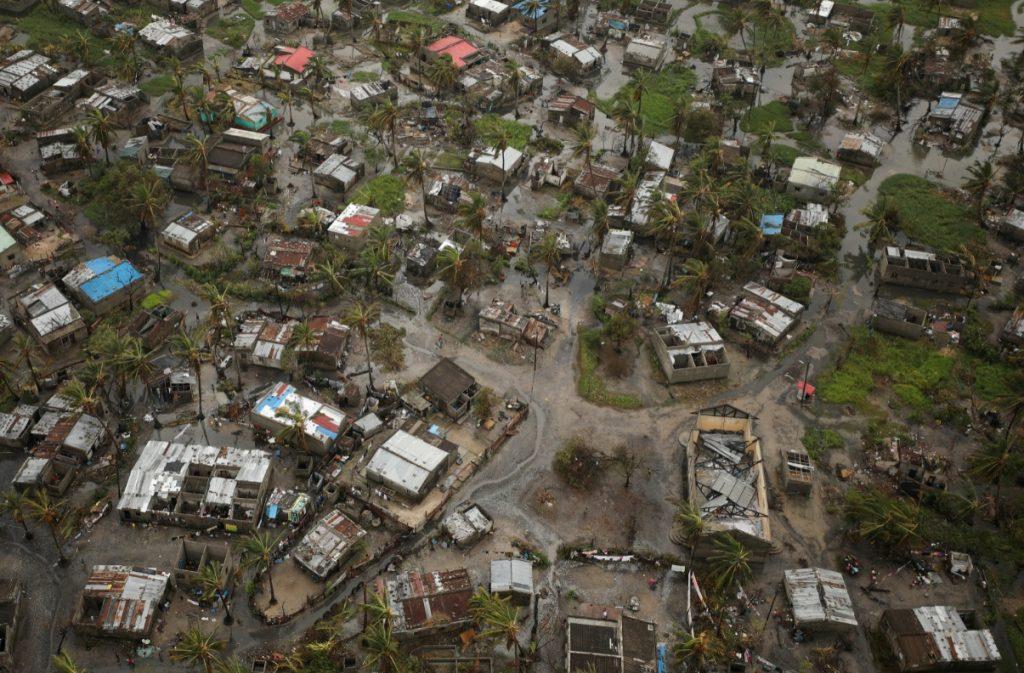 Foto: Edificios inundados se ven en Beira, Mozambique, después del ciclón Idai, 23 de marzo de 2019 (Reuters)