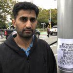 Foto :Yasir Amin, de 35 años, describe lo que vivió durante las masacres en Christchurch, Nueva Zelanda, 16 marzo 2019