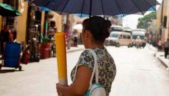 Foto: Las altas temperaturas en Yucatán se deben a un sistema anticiclónico localizado en el Golfo de México, marzo 3 de 2019 (Twitter: @YucatanDenuncia)