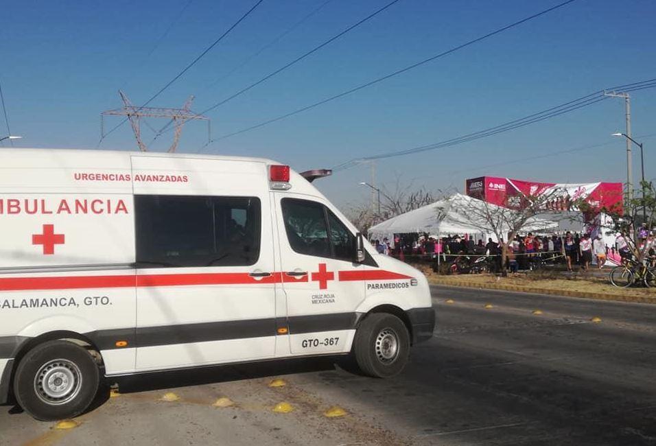 Foto: La noche del sábado, una ambulancia de la institución fue interceptada por un grupo armado, el 14 de abril de 2019 (Noticieros Televisa, archivo)