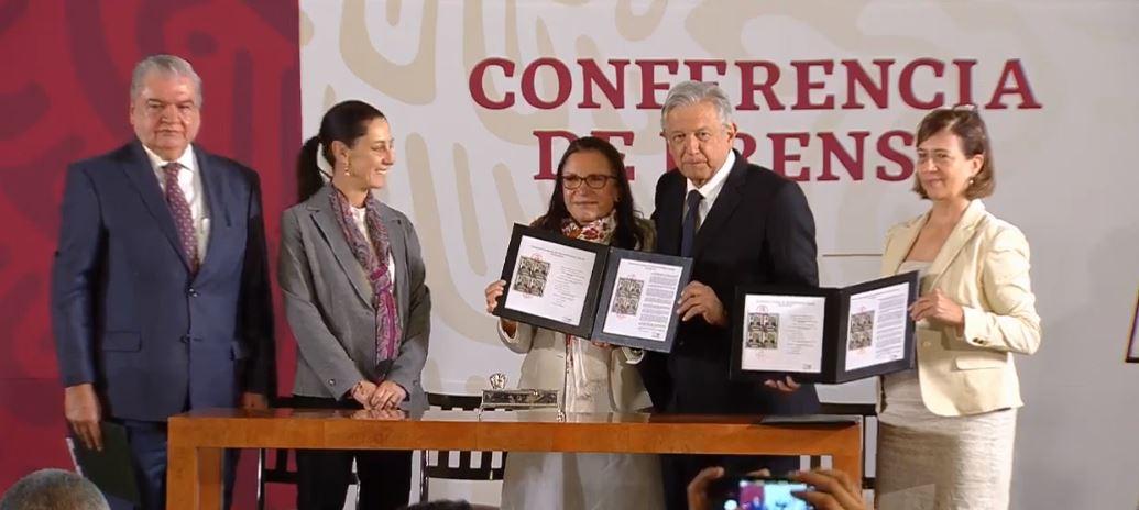 Foto AMLO cancela timbre postal por centenario de Emiliano Zapata 10 abril 2019