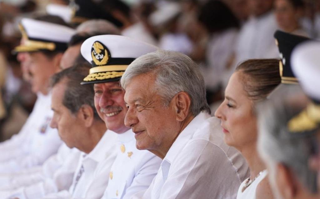 Foto: El presidente López Obrador urge a las secretarías de la Defensa Nacional y de la Marina que deben ayudar para resolver el grave problema de inseguridad y violencia, abril 21 de 2019 (Foto: lopezobrador.org.mx)