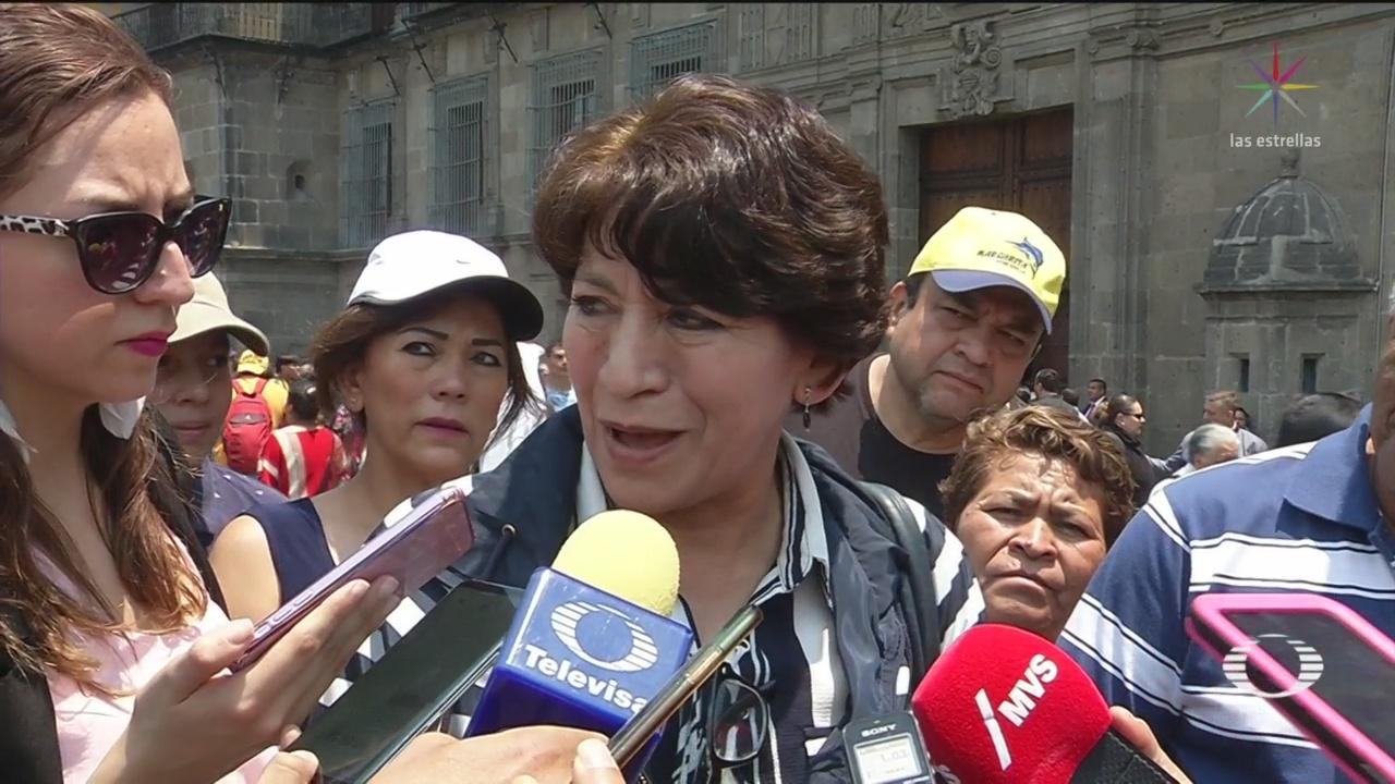 Foto: Amlo Gabinete Redoblar Esfuerzos Corrupción Apoyos Sociales 15 de Abril 2019