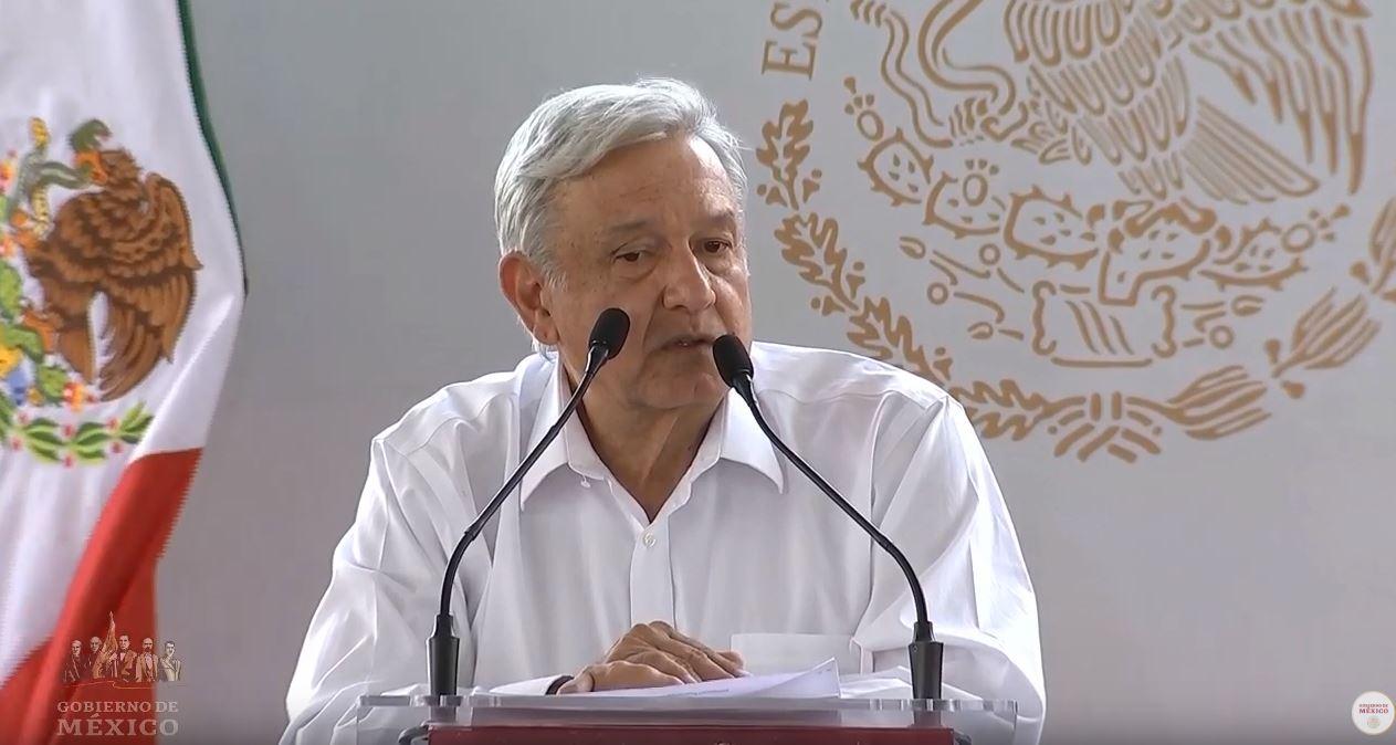 Foto: AMLO dijo que es su responsabilidad que a ningún mexicano le pase algo, el 6 de abril de 2019 (Gobierno de México YouTube)