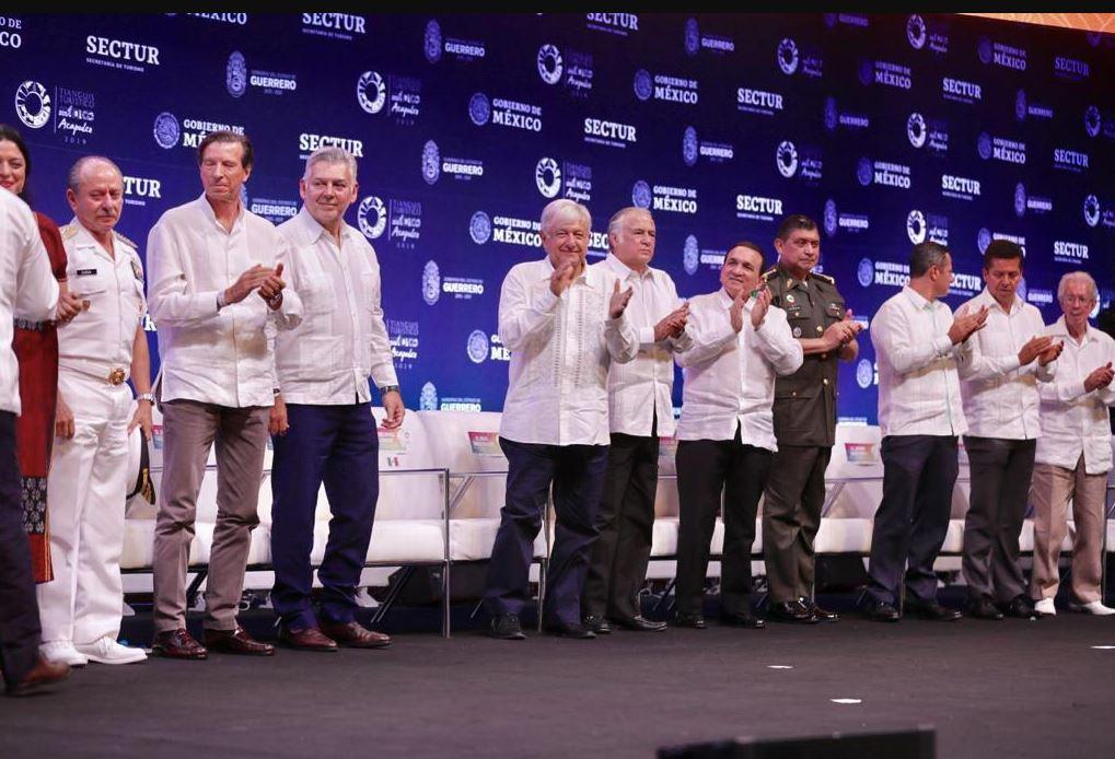 Foto: El presidente Andrés Manuel López Obrador aseguró que el objetivo es que los beneficios del turismo lleguen a todos los sectores, el 7 de abril de 2019 (Gobierno de México)