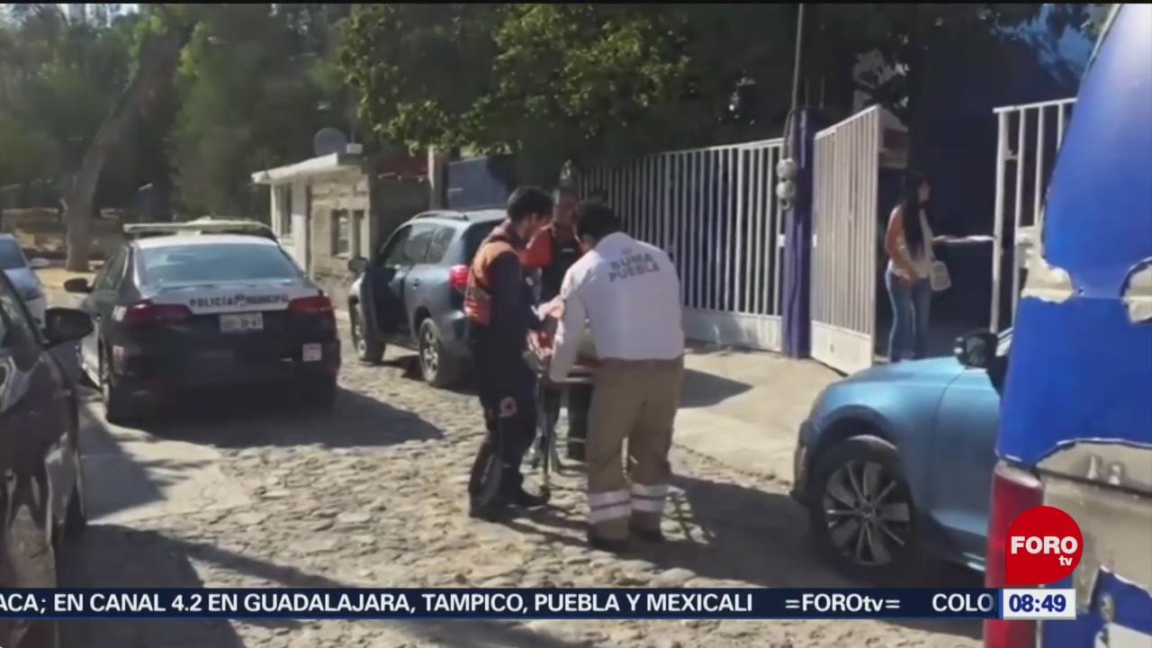 FOTO: Asaltantes queman pies y manos a sacerdote en Puebla, 13 de abril 2019