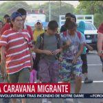 Foto: Avanza Caravana Migrante Chiapas 15 de Abril 2019