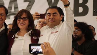FOTO Miguel Barbosa dice ser el político de mayor aceptación en Puebla (Facebook 31 marzo 2019 puebla)