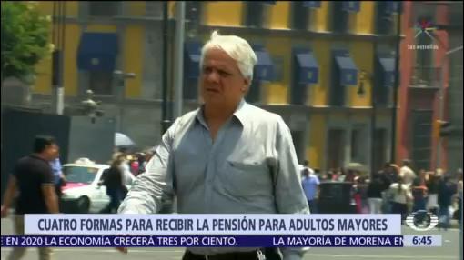 Cambiará esquema de pensiones para adultos mayores en CDMX
