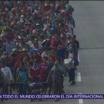 Caravana de migrantes se desintegra tras operativo en Chiapas