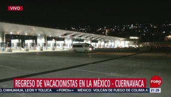 FOTO: Caseta México-Cuernavaca se encuentra libre de manifestantes, 28 ABRIL 2019